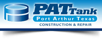 PAT Tank: Port Arthur Texas Construction & Repair Logo