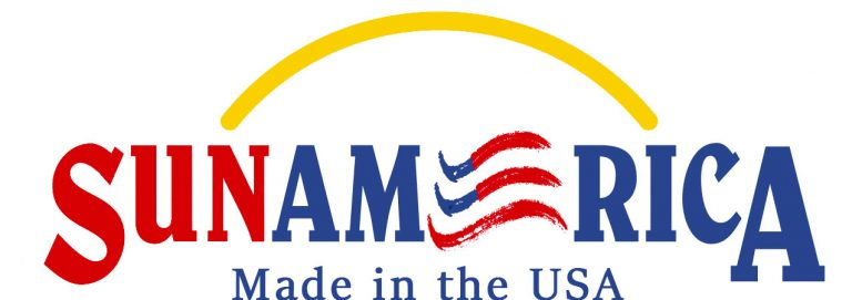 Sun America: Made in the USA Logo